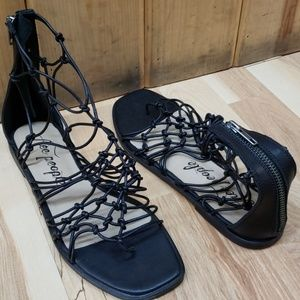 Free People Strappy Sandals 38